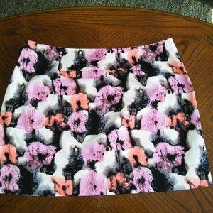 J Crew Floral Skirt.